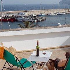 Отель Hostal Cala Ratjada пляж фото 2