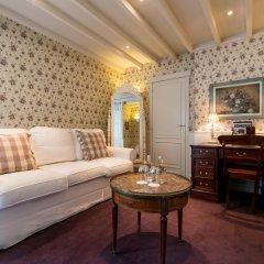 Отель De Orangerie - Small Luxury Hotels of the World Бельгия, Брюгге - отзывы, цены и фото номеров - забронировать отель De Orangerie - Small Luxury Hotels of the World онлайн комната для гостей фото 7