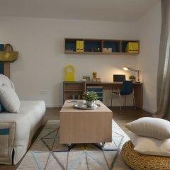 Отель Apparteo Palatino Paris 13 Франция, Париж - отзывы, цены и фото номеров - забронировать отель Apparteo Palatino Paris 13 онлайн комната для гостей фото 5