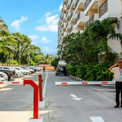 Отель Paradise Park Condo Паттайя парковка