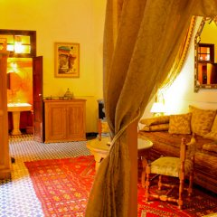 Отель Riad Louna Марокко, Фес - отзывы, цены и фото номеров - забронировать отель Riad Louna онлайн комната для гостей фото 2
