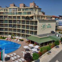 Отель Sunny Holiday Болгария, Солнечный берег - 1 отзыв об отеле, цены и фото номеров - забронировать отель Sunny Holiday онлайн балкон