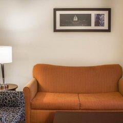 Отель Comfort Suites East Broad at 270 США, Колумбус - отзывы, цены и фото номеров - забронировать отель Comfort Suites East Broad at 270 онлайн комната для гостей фото 3