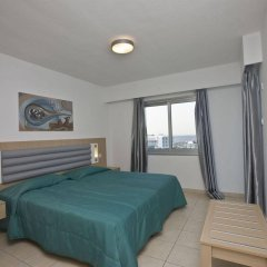 Отель Trizas Hotel Apartments Кипр, Протарас - отзывы, цены и фото номеров - забронировать отель Trizas Hotel Apartments онлайн комната для гостей фото 2