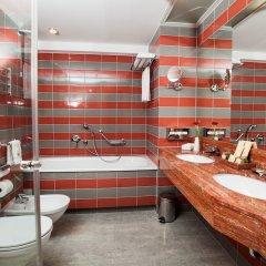 Отель Vanagupe Hotel Литва, Паланга - отзывы, цены и фото номеров - забронировать отель Vanagupe Hotel онлайн ванная фото 2