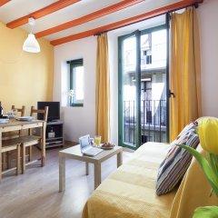 Апартаменты Inside Barcelona Apartments Vidreria комната для гостей фото 2
