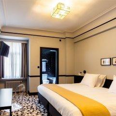 Отель Hôtel des Colonies Бельгия, Брюссель - 8 отзывов об отеле, цены и фото номеров - забронировать отель Hôtel des Colonies онлайн комната для гостей фото 2