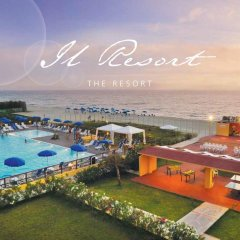 Отель Le Dune Blu Resort Сан-Фердинандо бассейн