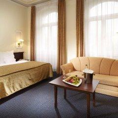 Отель Excelsior Чехия, Марианске-Лазне - отзывы, цены и фото номеров - забронировать отель Excelsior онлайн комната для гостей фото 3