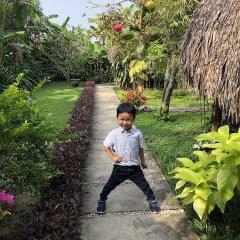 Отель An Bang Garden Homestay фитнесс-зал фото 2