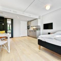 Апартаменты Forenom Serviced Apartments Oslo Majorstuen комната для гостей фото 5