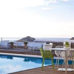 Anemoessa Boutique Hotel Mykonos пляж