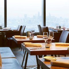 Отель Novotel London Canary Wharf Hotel Великобритания, Лондон - 1 отзыв об отеле, цены и фото номеров - забронировать отель Novotel London Canary Wharf Hotel онлайн питание фото 2