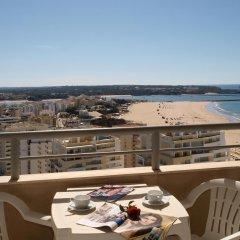 Отель Apartamentos Turisticos Jardins Da Rocha балкон