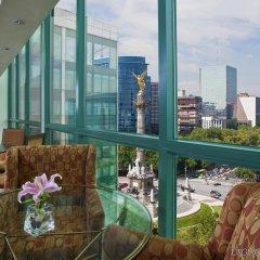 Отель Sheraton Mexico City Maria Isabel Hotel Мексика, Мехико - 1 отзыв об отеле, цены и фото номеров - забронировать отель Sheraton Mexico City Maria Isabel Hotel онлайн балкон