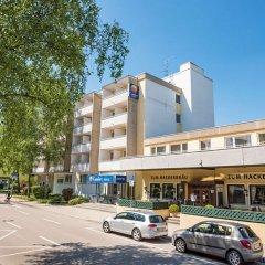 Отель Comfort Hotel Am Medienpark Германия, Унтерфёринг - отзывы, цены и фото номеров - забронировать отель Comfort Hotel Am Medienpark онлайн парковка