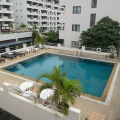 Апартаменты Jomtien Good Luck Apartment Паттайя бассейн фото 2