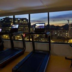 Evolution Lisboa Hotel Лиссабон фитнесс-зал