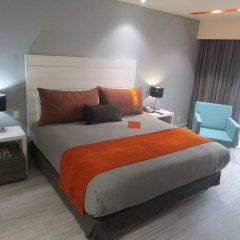 Отель Real Inn Perinorte Тлальнепантла-де-Бас комната для гостей