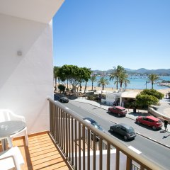 Апартаменты The White Apartments by Ibiza Feeling - Adults Only Апартаменты с различными типами кроватей