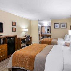 Отель Comfort Inn Near Old Town Pasadena удобства в номере фото 2