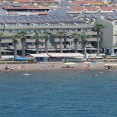 Candan Beach Hotel Мармарис пляж фото 2