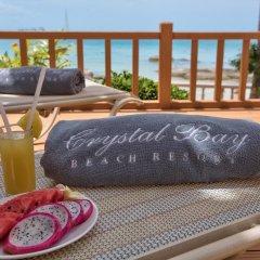 Отель Crystal Bay Beach Resort бассейн фото 3