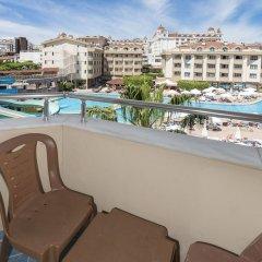 Grand Seker Hotel Турция, Сиде - 1 отзыв об отеле, цены и фото номеров - забронировать отель Grand Seker Hotel - All Inclusive онлайн балкон
