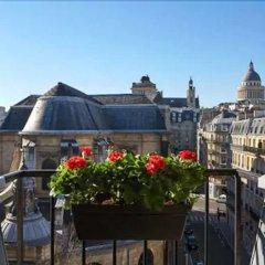 Отель Abbatial Saint Germain Франция, Париж - отзывы, цены и фото номеров - забронировать отель Abbatial Saint Germain онлайн балкон