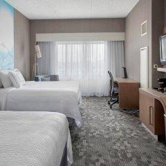 Отель Courtyard by Marriott Newark Elizabeth США, Элизабет - отзывы, цены и фото номеров - забронировать отель Courtyard by Marriott Newark Elizabeth онлайн комната для гостей фото 2