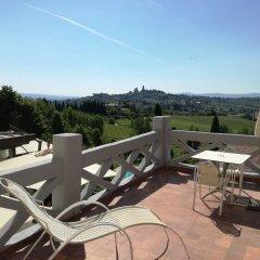 Отель Villa Ducci Италия, Сан-Джиминьяно - отзывы, цены и фото номеров - забронировать отель Villa Ducci онлайн балкон