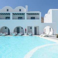 Отель Princess Santorini Villa Греция, Остров Санторини - отзывы, цены и фото номеров - забронировать отель Princess Santorini Villa онлайн бассейн фото 2