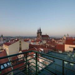Отель Leon D´Oro Чехия, Прага - - забронировать отель Leon D´Oro, цены и фото номеров балкон