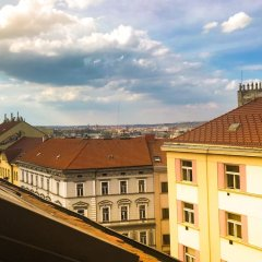Hotel Victoria Прага балкон