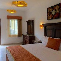 Отель Las Golondrinas Плая-дель-Кармен комната для гостей фото 2