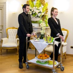 Отель Domus Spagna Capo le Case Luxury Suite питание фото 3