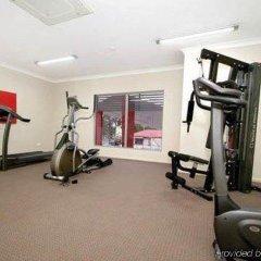 Отель Platinum International фитнесс-зал фото 4