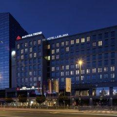 Austria Trend Hotel Ljubljana вид на фасад фото 2