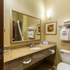 Отель Comfort Suites Galveston США, Галвестон - отзывы, цены и фото номеров - забронировать отель Comfort Suites Galveston онлайн ванная фото 2