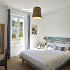 Отель Villa du roc fleuri Франция, Канны - отзывы, цены и фото номеров - забронировать отель Villa du roc fleuri онлайн комната для гостей фото 5