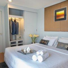 Апартаменты Antique Palace Apartment Бангкок комната для гостей фото 4