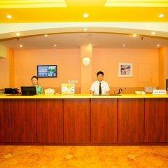 Отель Home Inn Ciyunsiqiao интерьер отеля