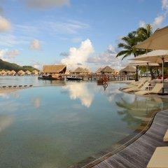 Отель Le Meridien Bora Bora бассейн фото 2
