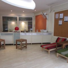 Sibamboo Hostel & Bar Бангкок интерьер отеля
