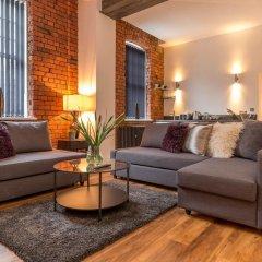 Апартаменты Manchester Arena Apartments комната для гостей фото 2