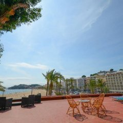 Отель Villa Sa Caleta Испания, Льорет-де-Мар - отзывы, цены и фото номеров - забронировать отель Villa Sa Caleta онлайн пляж фото 2