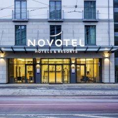 Отель Novotel Nurnberg Centre Ville Нюрнберг вид на фасад