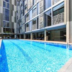 Отель SILA Urban Living Вьетнам, Хошимин - отзывы, цены и фото номеров - забронировать отель SILA Urban Living онлайн бассейн фото 2