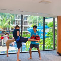 Отель Novotel Phuket Surin Beach Resort фитнесс-зал фото 4