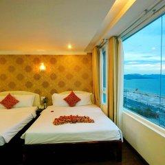 Отель Galaxy Hotel Ngan Ha Вьетнам, Нячанг - 9 отзывов об отеле, цены и фото номеров - забронировать отель Galaxy Hotel Ngan Ha онлайн комната для гостей фото 5
